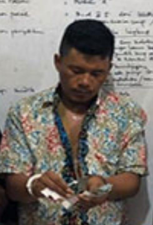 Tersangka narkoba di Batubara