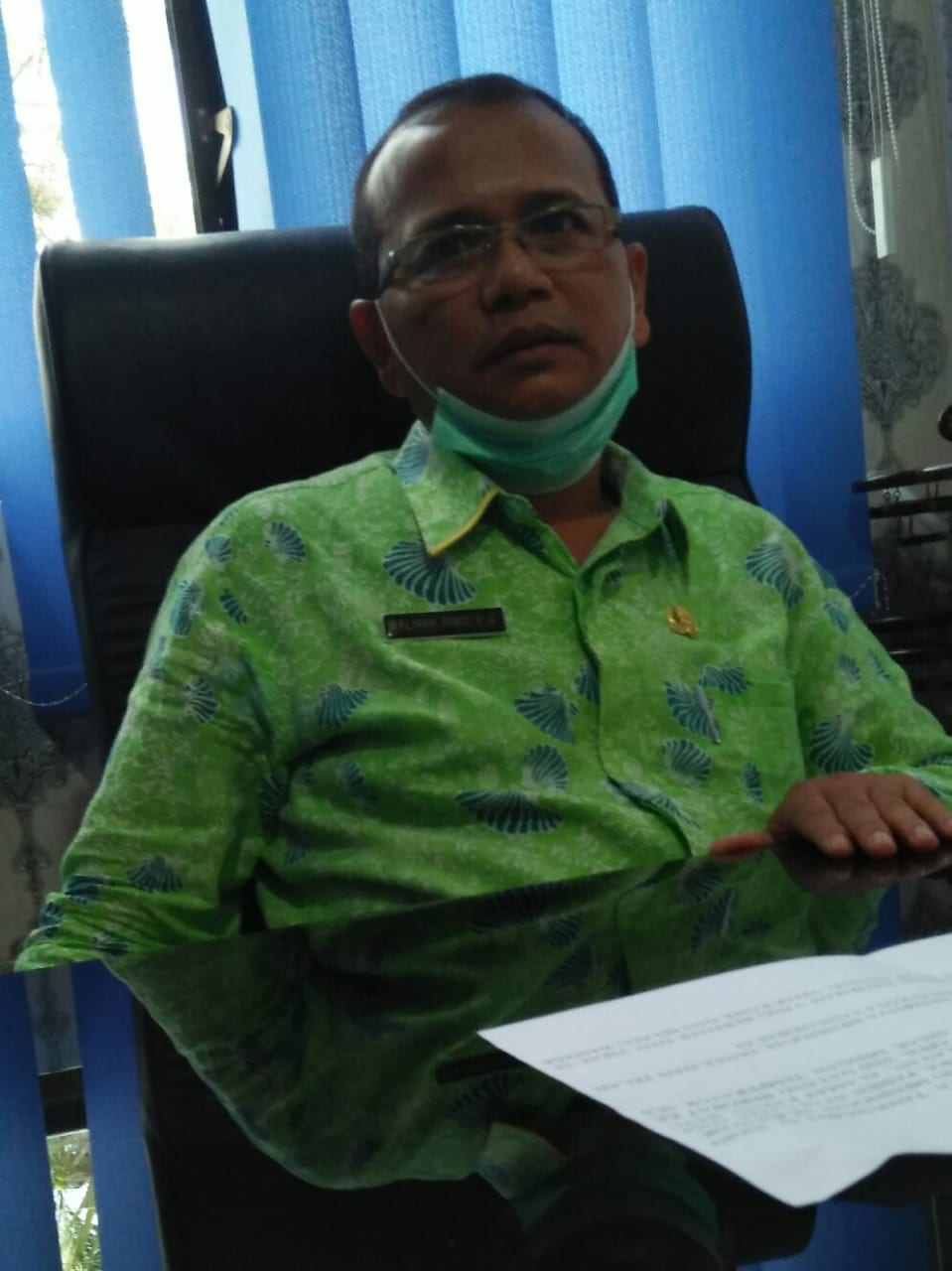 Walman Girsang, Jubir Gugus Tugas Covid-19 Kota Tanjungbalai