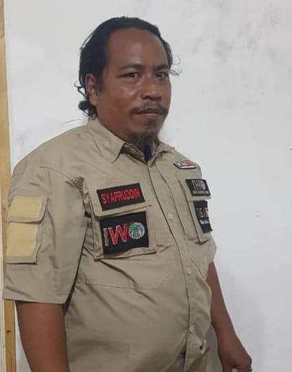 Ketua PD IWO Asahan-Batubara Syafruddin Yusuf SE