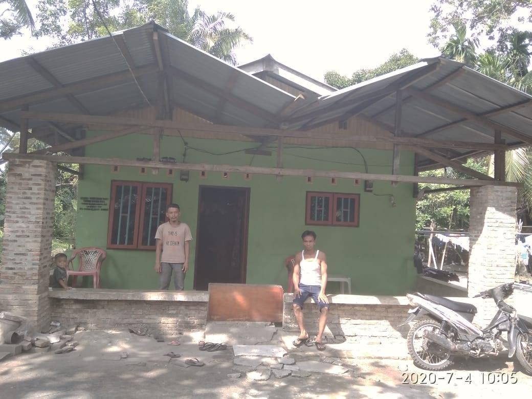 Warga yang tinggal di dekat PT PP Lonsum Asahan.