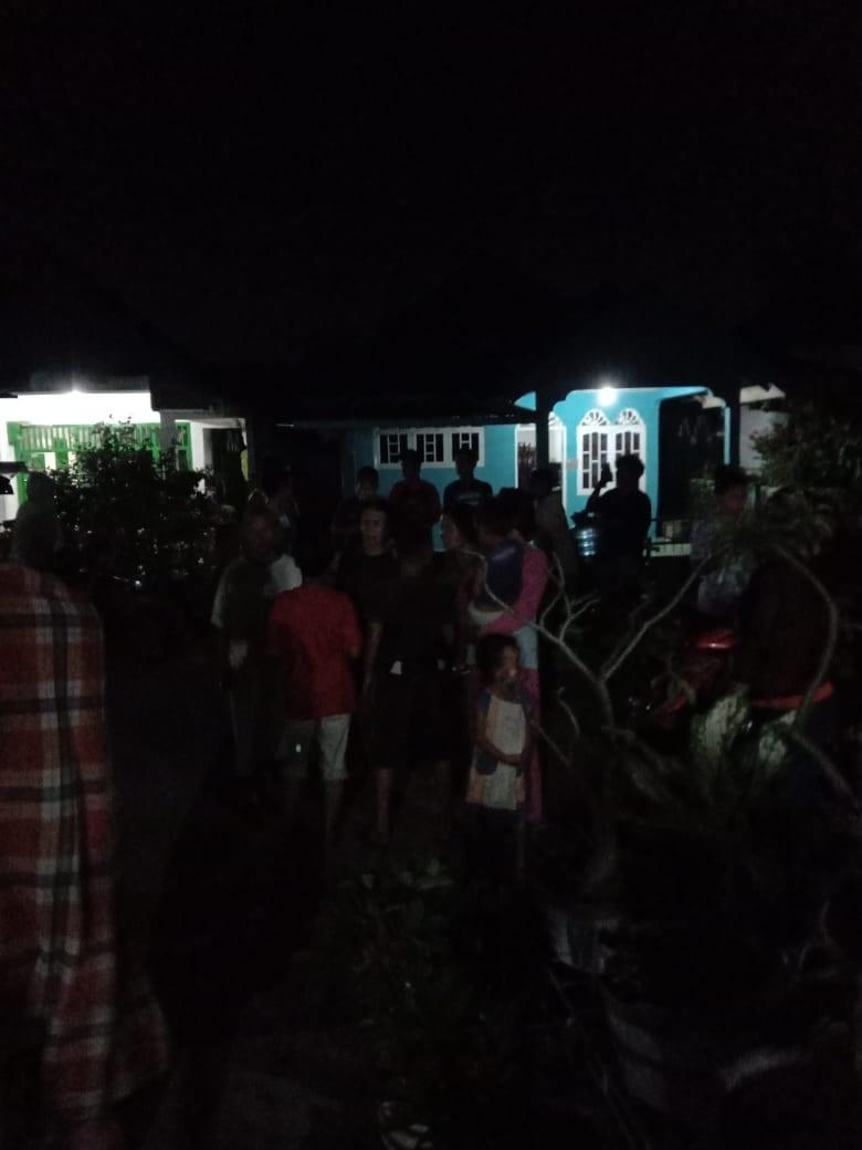Rumah Mahasiswi Unimed Medan yang Menghina Alquran dan Allah di Facebook Didatangi Ratusan Umat Islam di Asahan