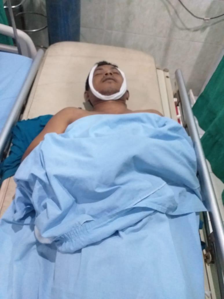 Jenazah korban kecelakaan saat di RS.