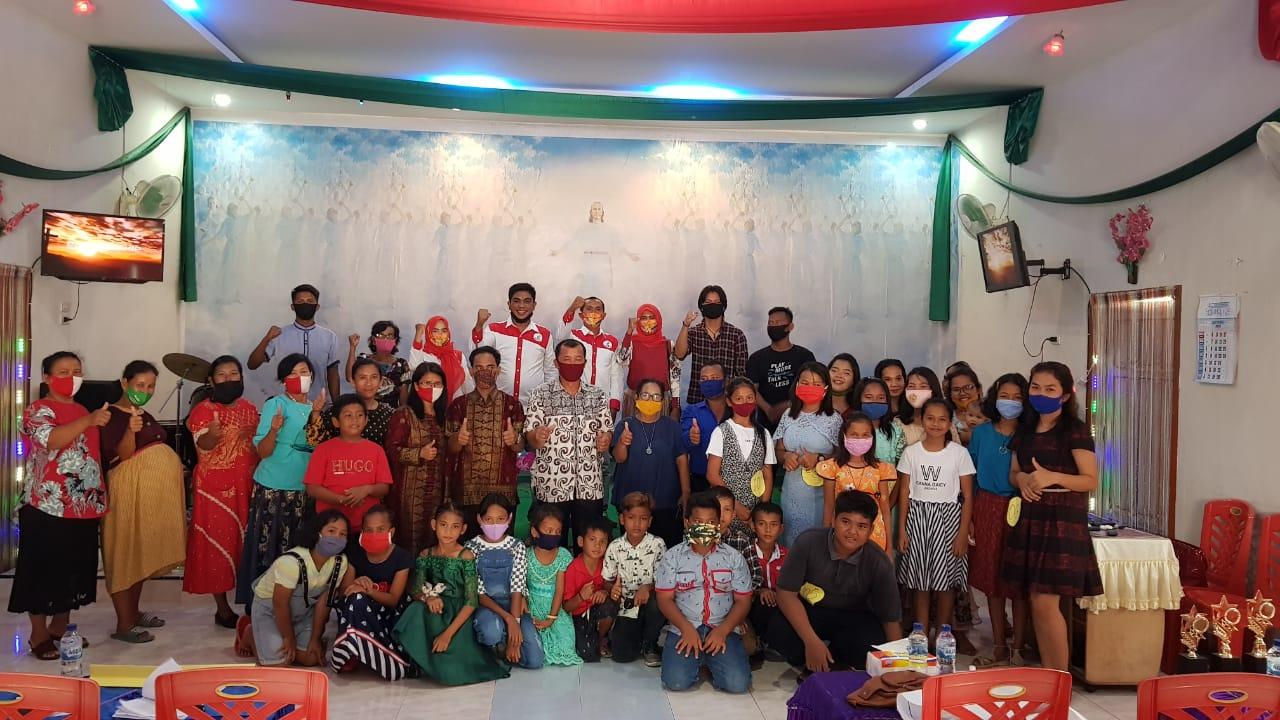 Perkenalkan Organisasi, Taruna Merah Putih Asahan Gelar Cerdas Cermat Alkitab