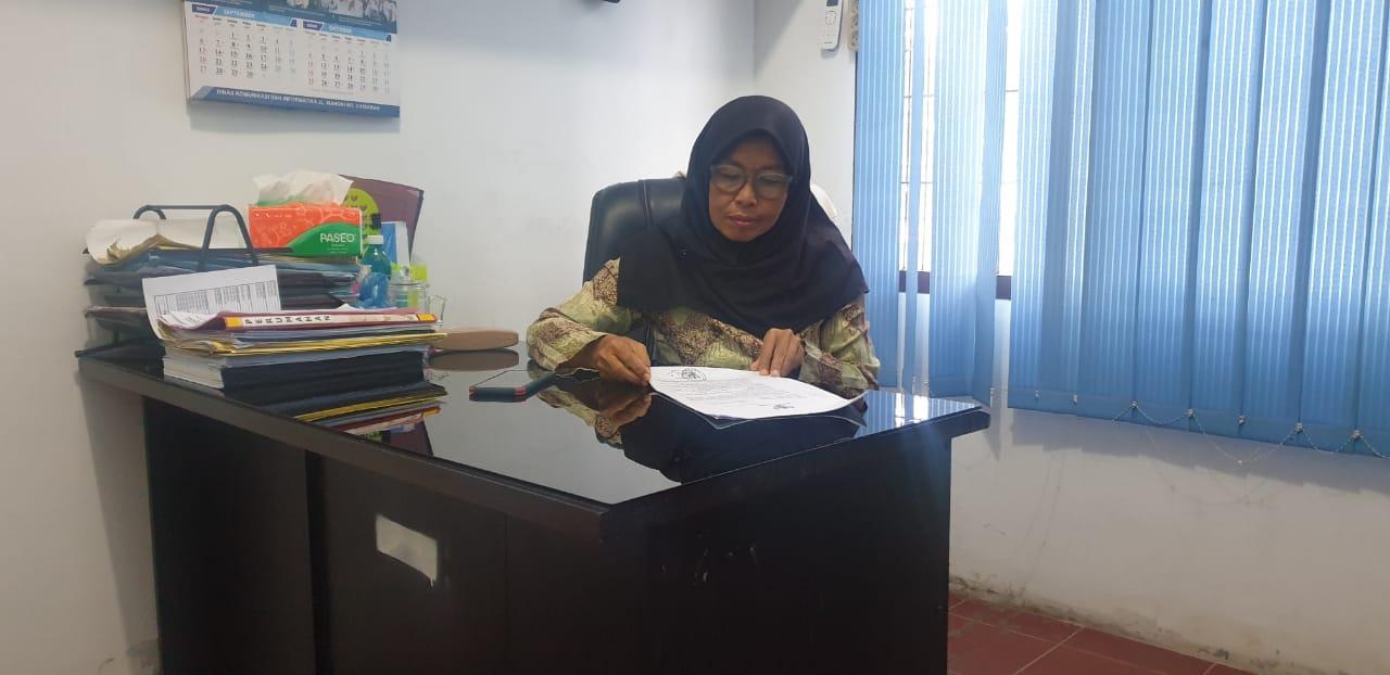 Sekretaris Perkim Asahan Azijah