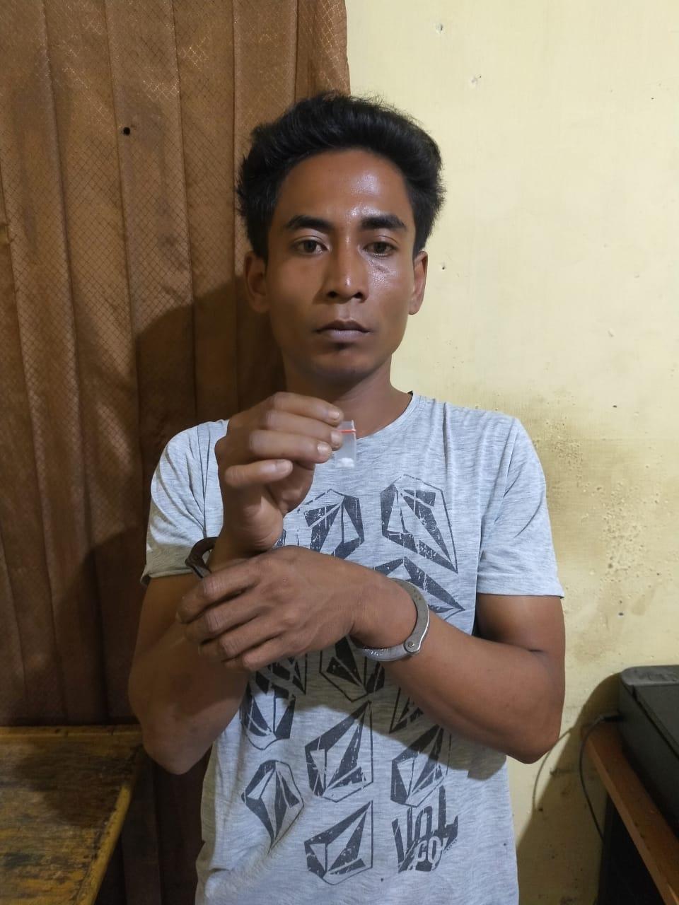 Penjual Sabu Ini Diringkus Polisi