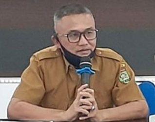 Juru bicara penanganan covid 19 Pemkab Asahan Rahmat Hidayat Siregar.