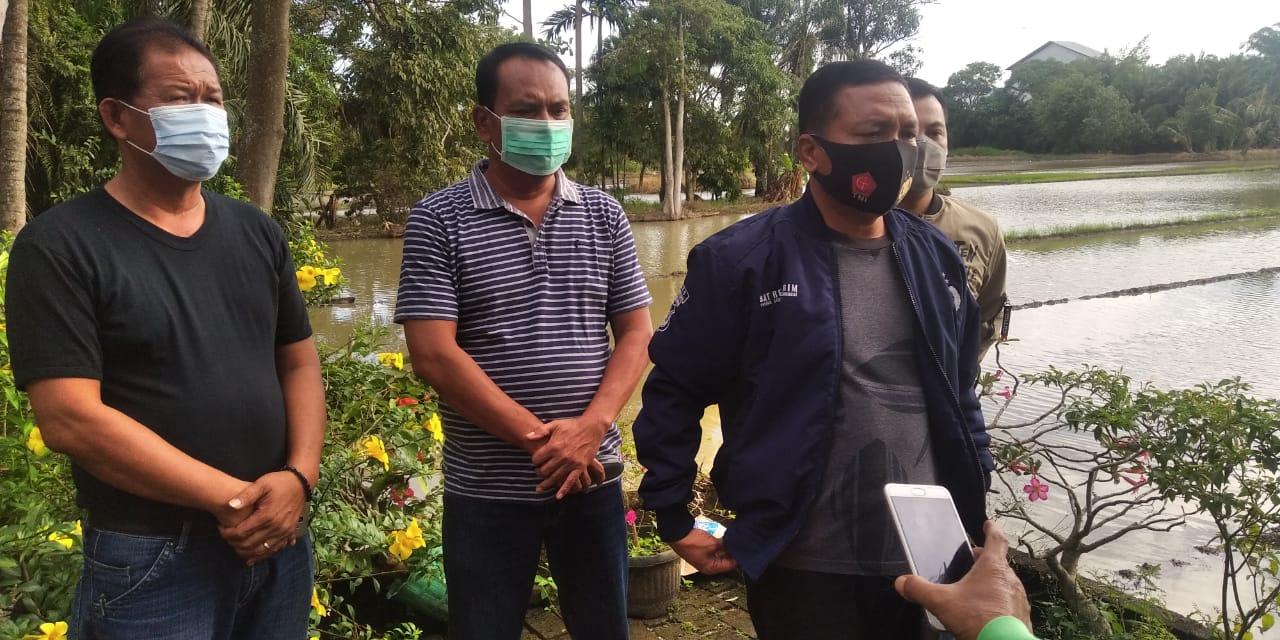Kapolres Sergai AKBP Robinson Simatupang yang langsung memimpin penyisiran dan pencarian para tahanan yang kabur