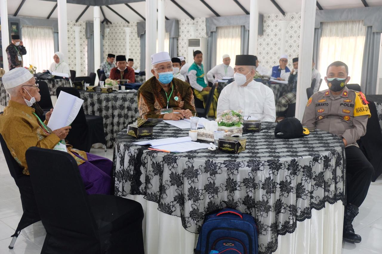 Wakapolres Tanjungbalai Hadiri Musda MUI