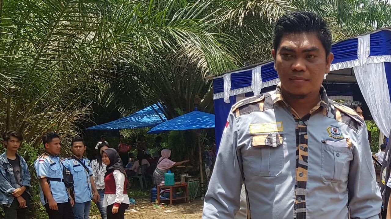 Ketua GM Pekat IB Sumut Khairul Anhar Harahap