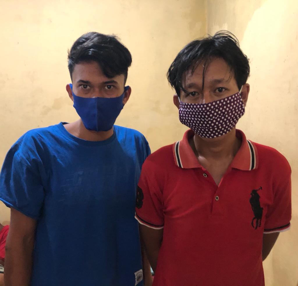 Beli Sabu di Siantar, 2 Pria ini Tertangkap di Simalungun