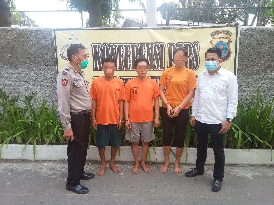 3 Pengedar Sabu Ini Diciduk Polisi