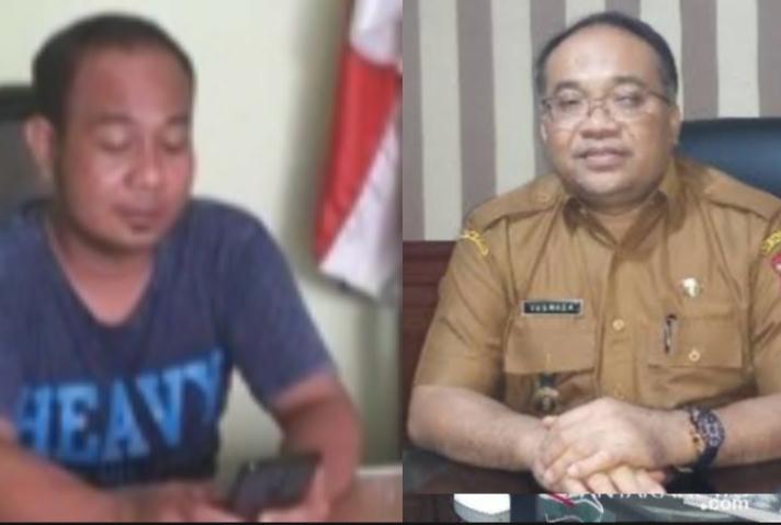 Sekjen DPP Bara Api Afifuddin, dan Sekda Tanjungbalai Yusmada