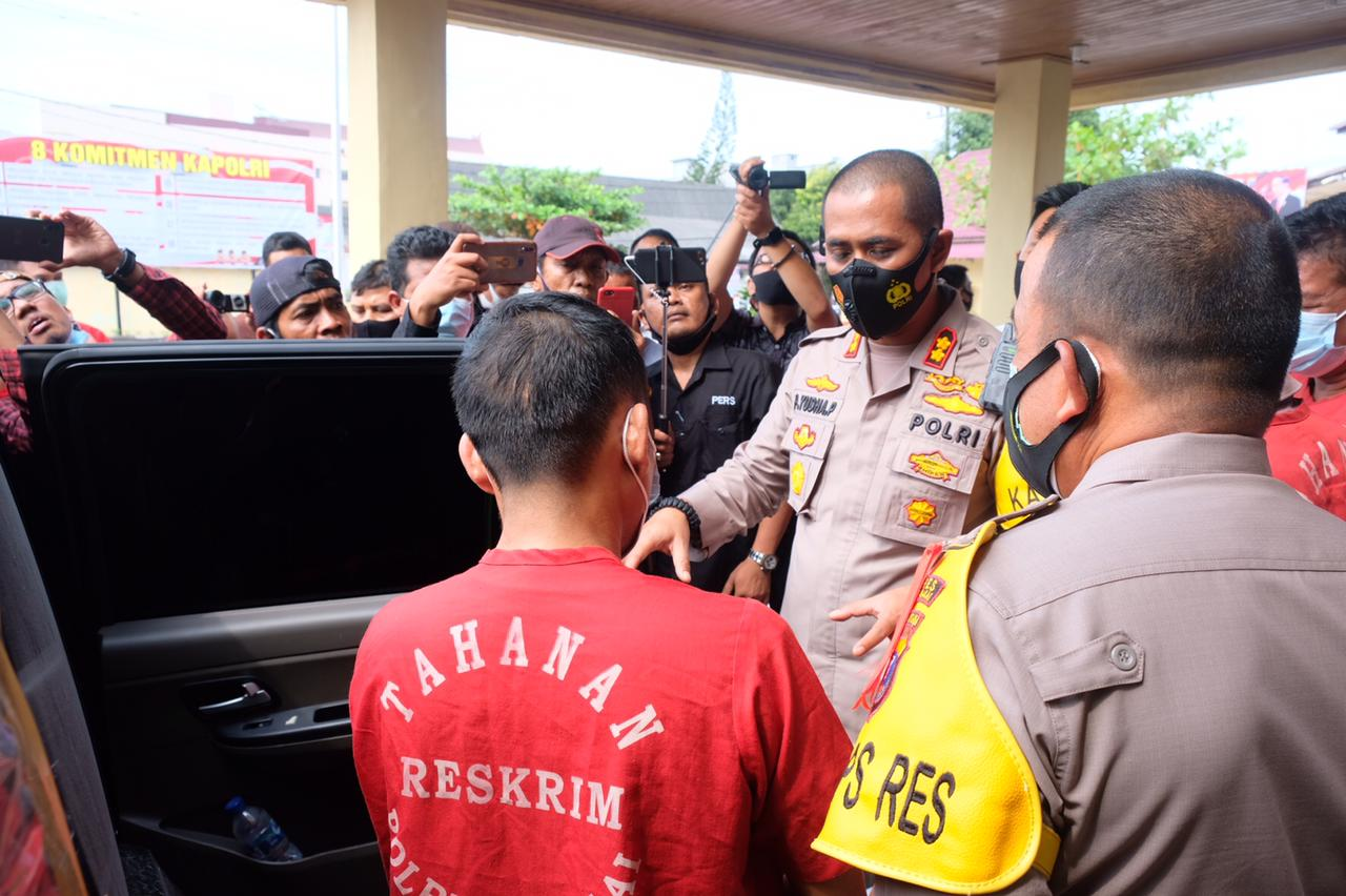 Polres Tanjungbalai Ringkus 3 Warga Labura Penculik Pelajar Alwasliyah