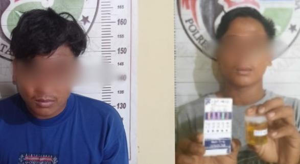 Dikibusi, Dua Warga Tanjungbalai Pemilik Narkoba Diringkus Polisi