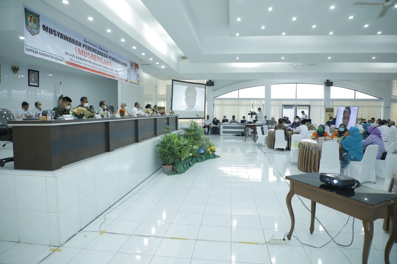 Bupati Asahan: Pembangunan Daerah Memerlukan Nanajemen Strategis