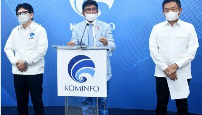 Menko Infokom Johnny Jamin Tidak Terjadi Black Out Total Telekomunikasi Ruas Biak-Jayapura